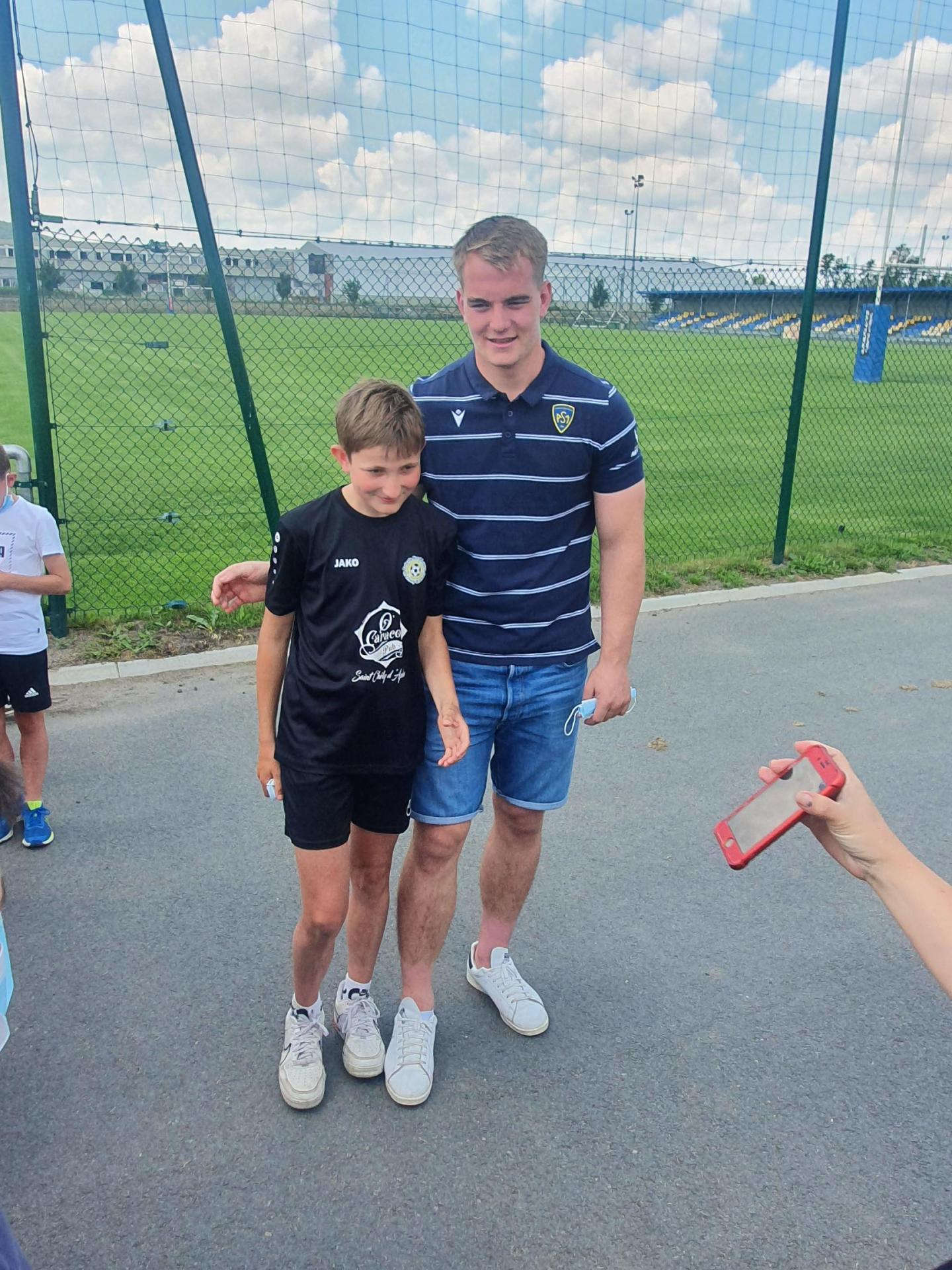 Visite section foot Clermont Foot ASM-3
