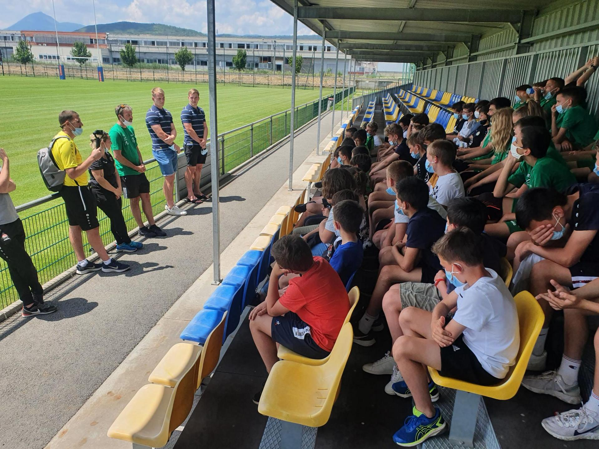 Visite section foot Clermont Foot ASM-1