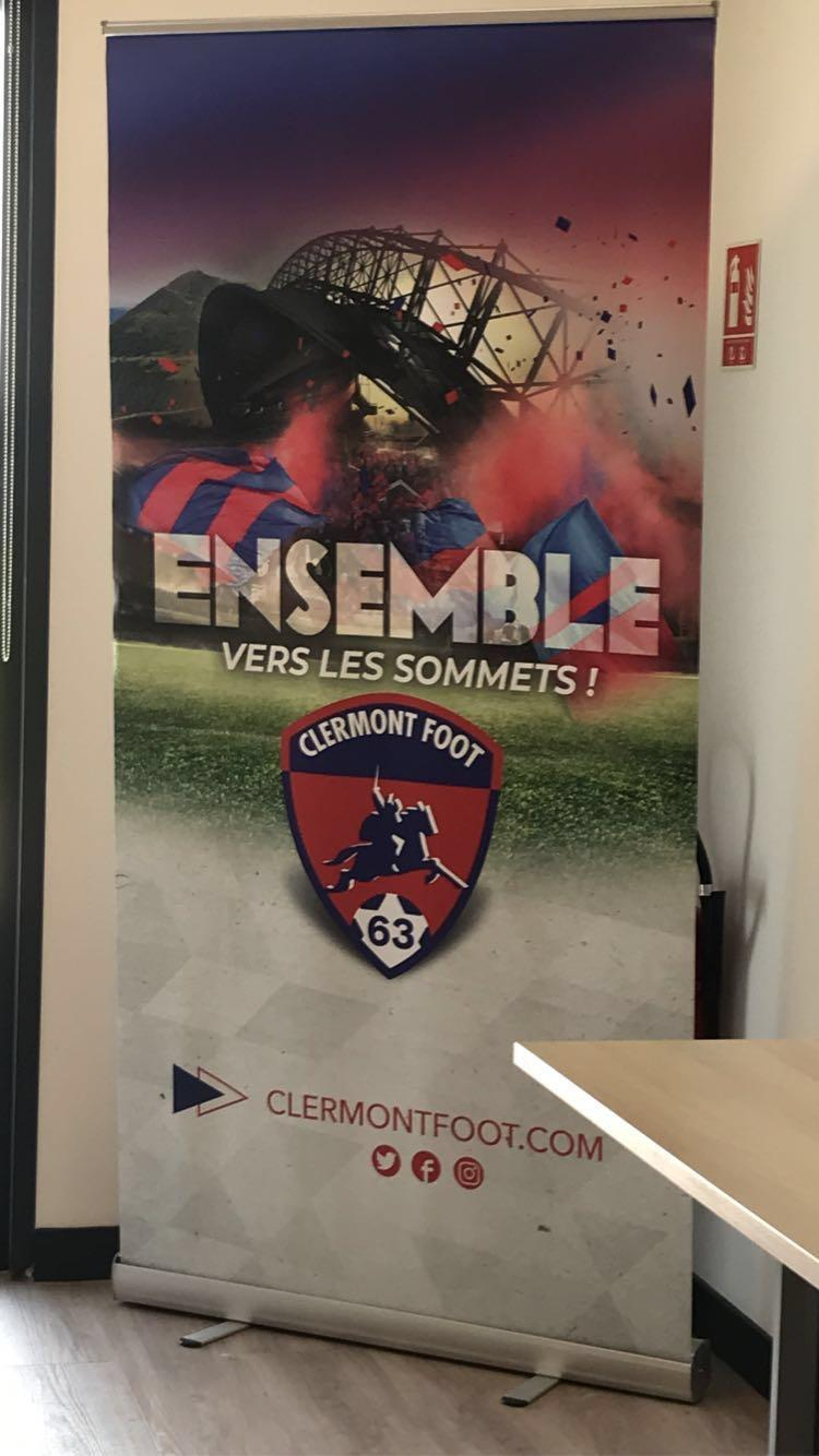 Visite section foot Clermont Foot ASM-12