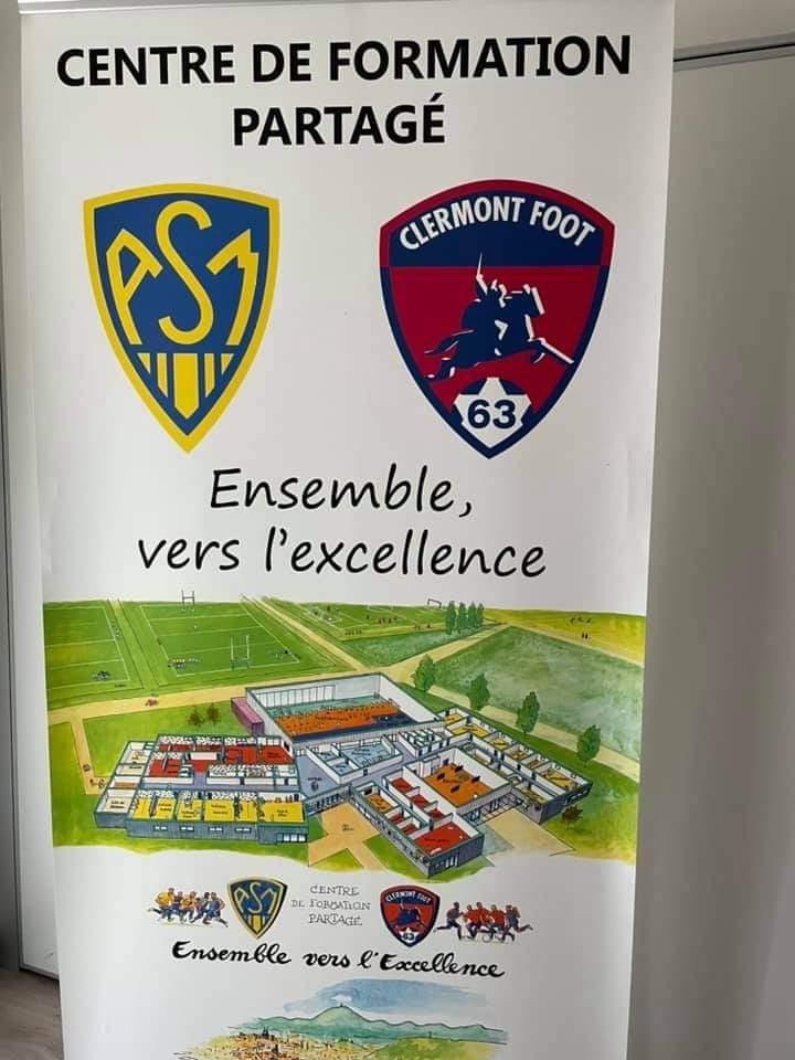 Visite section foot Clermont Foot ASM-10