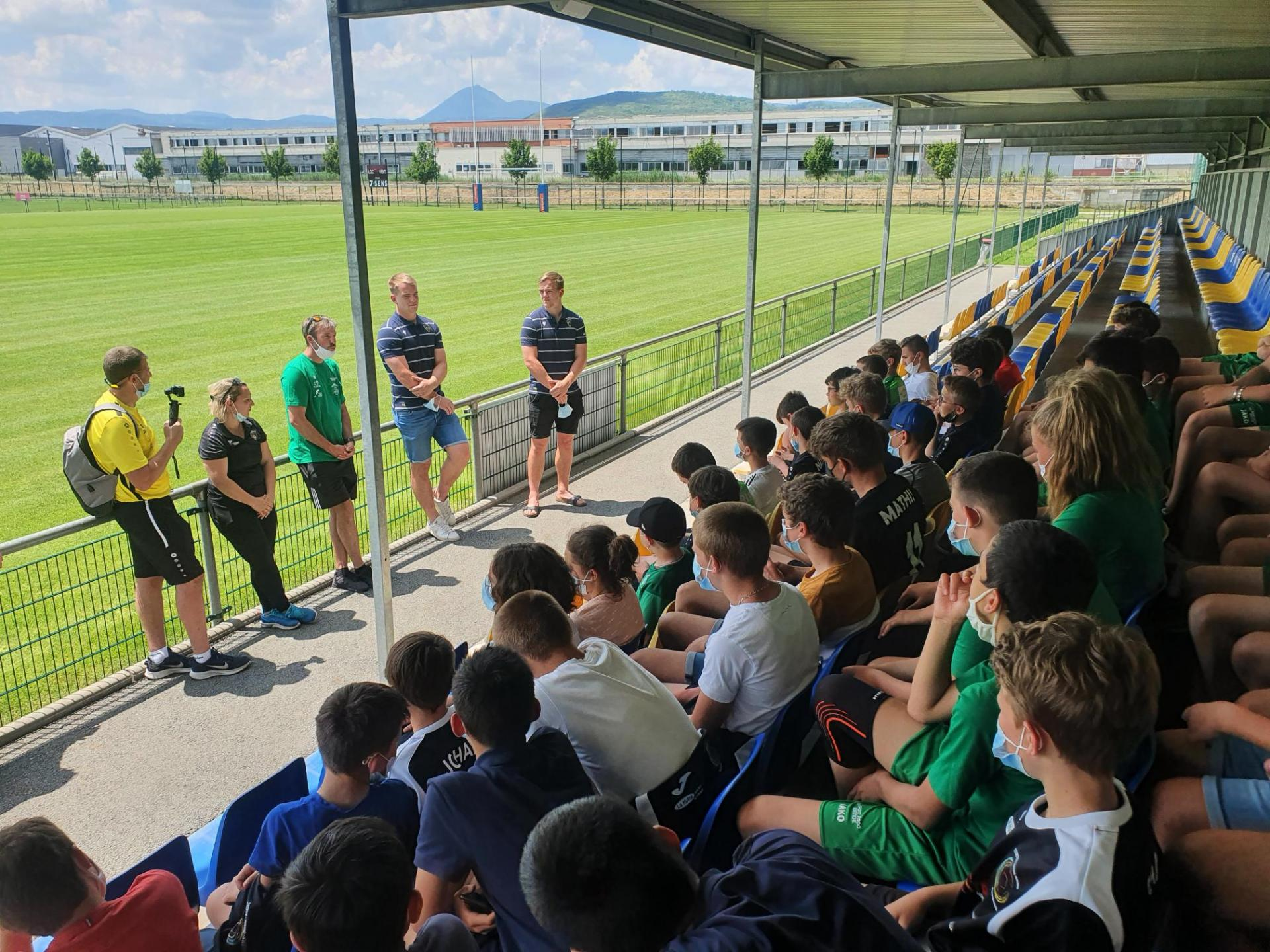 Visite section foot Clermont Foot ASM-11
