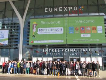 Visite eurexpo lyon mars 2015 sections bois et sen