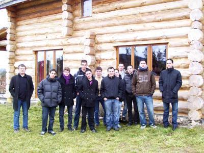 Visite maisonenbois btsscbh blavignac fevrier2011 photo2