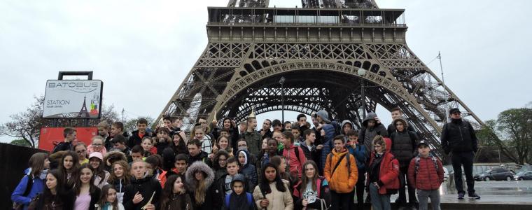 Classe anglais patrimoine à Paris pour les 5ème