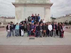 Voyage scolaire 6eme 2013 lyon